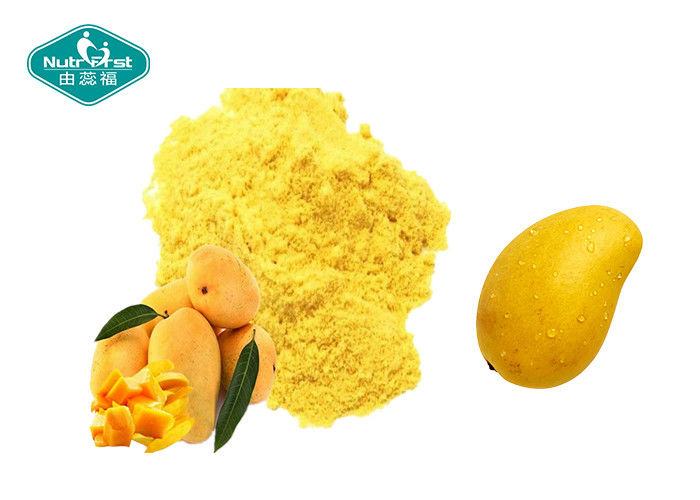 Mango Dehydrated Fruit And Vegetable Powder Fresh Yellow Soft Drink For Skin Or Hair